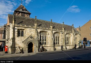 CNMY3B The Parish bar Micklegate (formerly St John the Evangelist church) York North Yorkshire England UK United Kingdom Great Britain