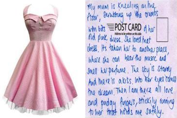 pink dress smaller