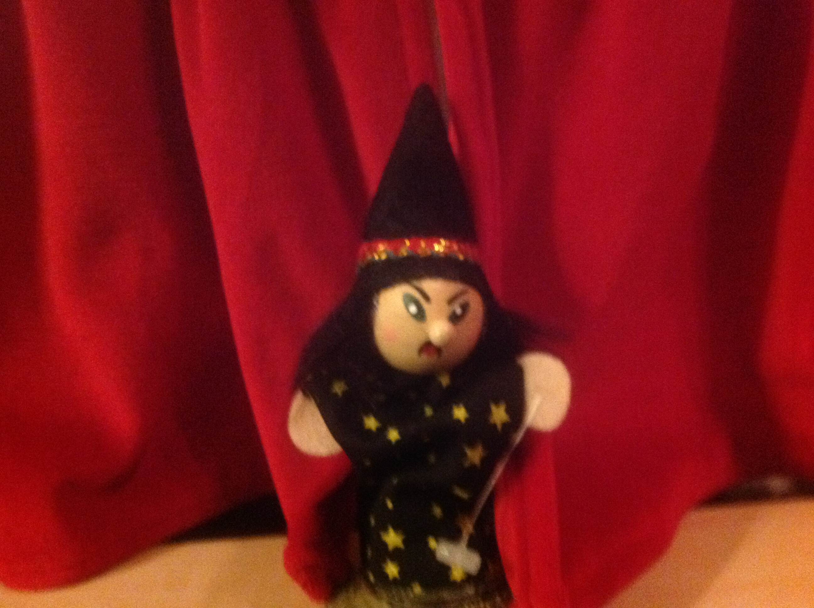 puppet theatre evil wizard