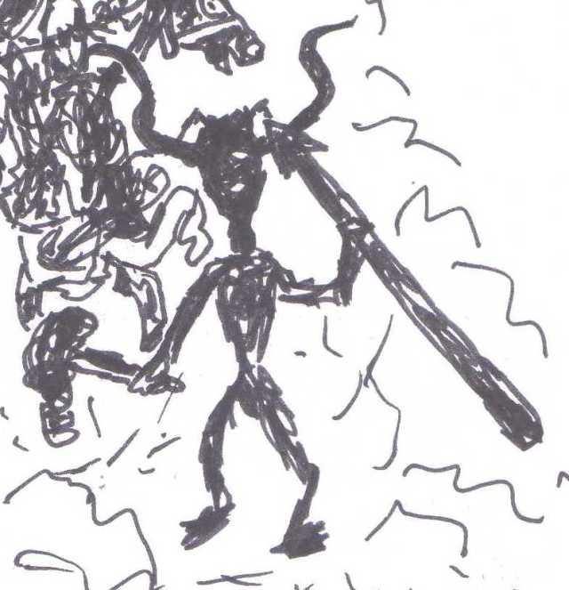 horned god 01