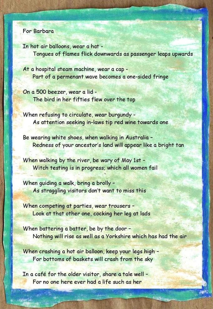 barbara poem