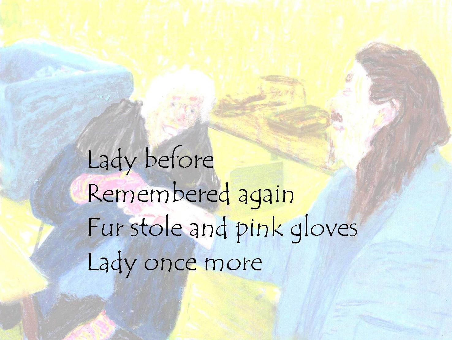 gloves lightened poem