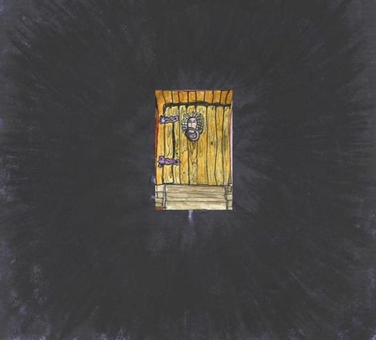 distant door