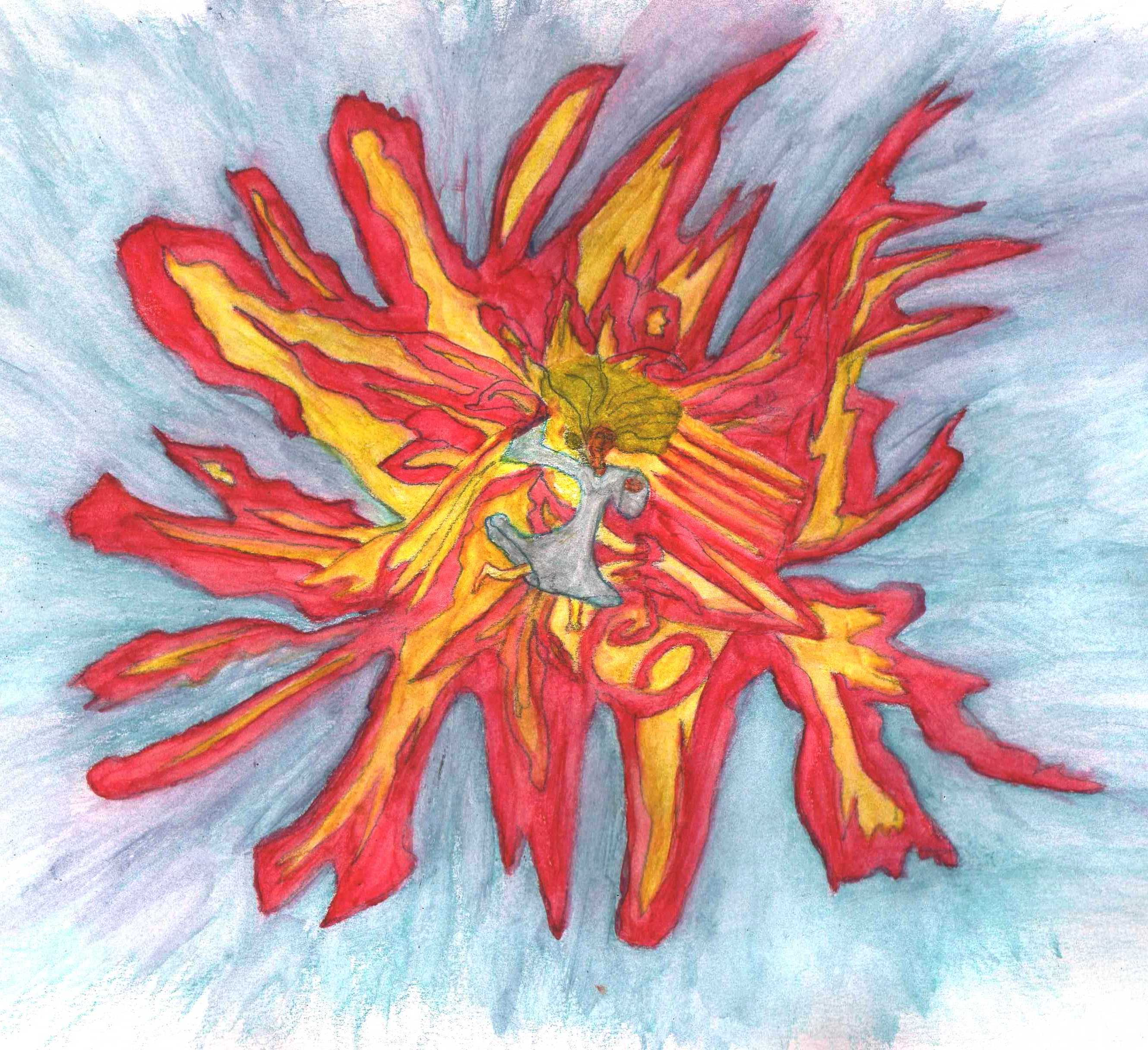 falling flames 02 painted squared up 06