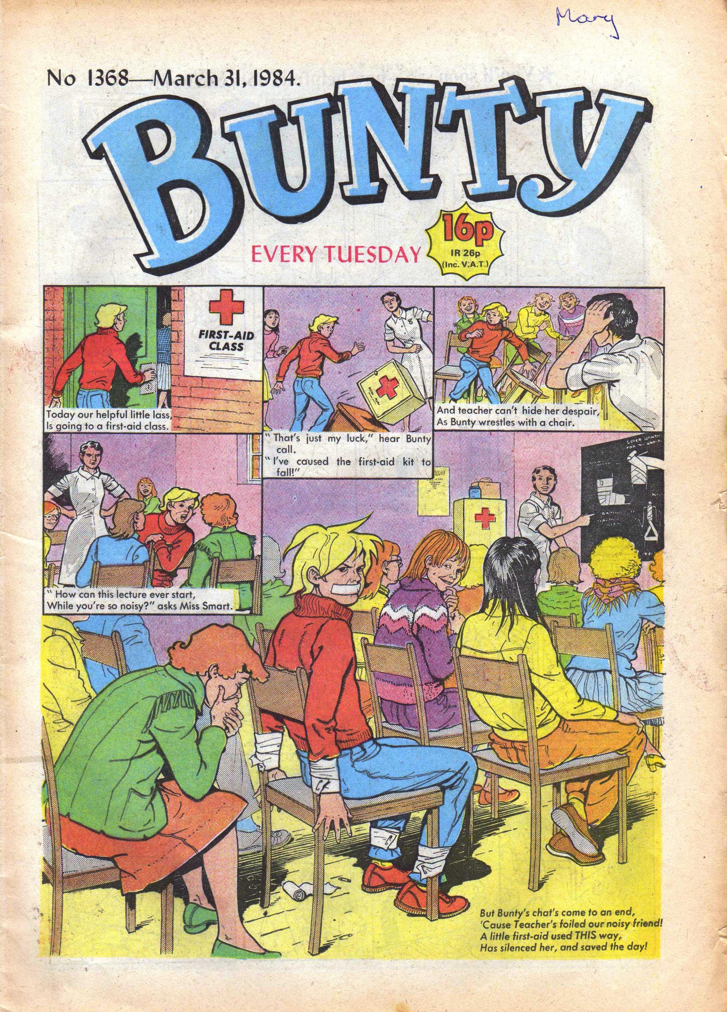 bunty  cover