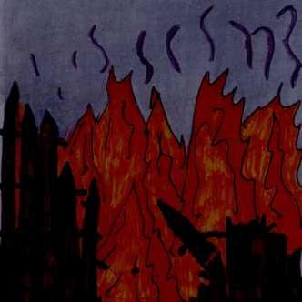 door-flames