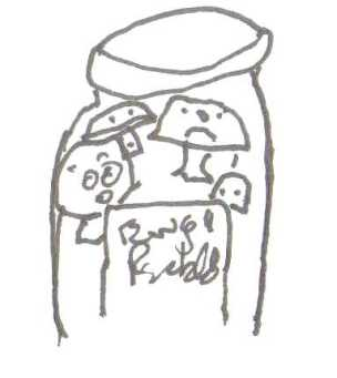 mushroom-jar