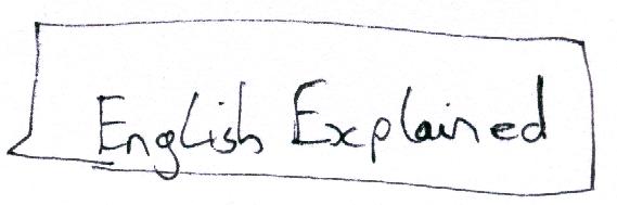 english explained