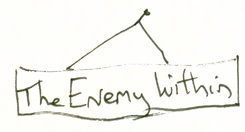 enemy within sign