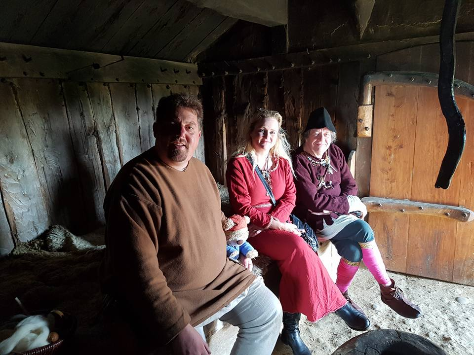three in hut