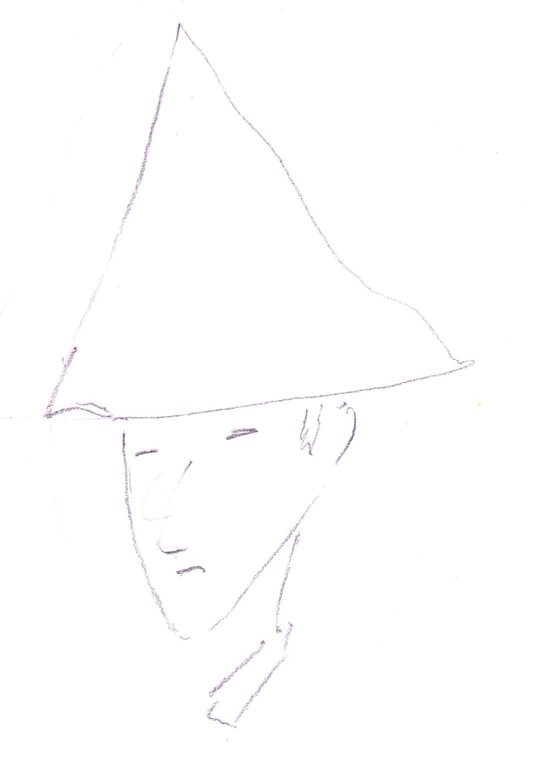pointy man 01