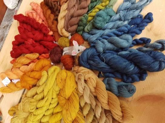 dye spiral