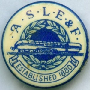 aslef established badge
