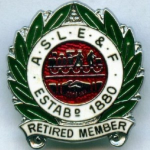 aslef retired