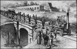 first public railway bridge