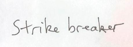 strike breaker